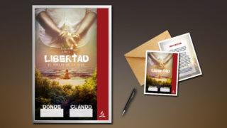 Invitación y Afiche: Libertad – Semana Santa 2018