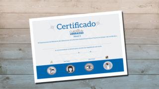 Certificado | Curso Liderazgo Adolescente nivel 3