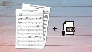 Partituras + Archivos MP3: Adoración Infantil 2018