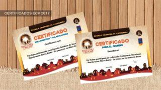 Certificado ECV – 2018