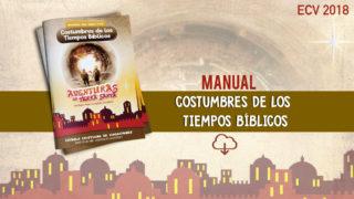 Manual Costumbres de lo tiempo Bíblicos – ECV 2018