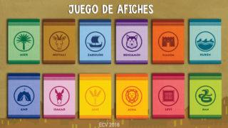 Juego de Afiches (familias) – ECV 2018