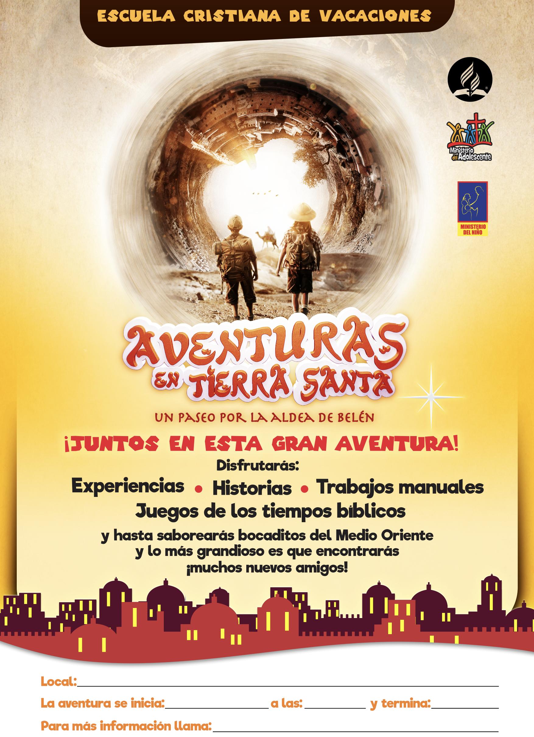 Escuela Cristiana de Vacaciones 2018 | Aventuras en Tierra Santa ...