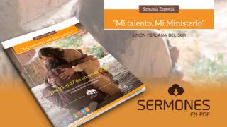 """Sermonario – Semana """"Mi Talento Mi Ministerio"""""""