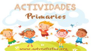 Primarios – 13 de octubre 2018 – Auxiliar de Escuela Sabática