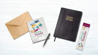 Invitación y Marca páginas – Adoración en Familia 2018