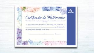 Certificado de Casamiento – Ministerio de la Familia
