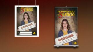 Banner y Afiche: Rompiendo el Silencio 2018