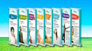 (Nuevo logotipo) Banners: 8 Remedios – Feria Vida&Salud