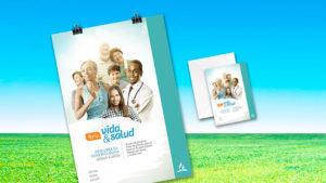 Afiche e invitación: Feria Vida y Salud 2018
