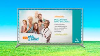 Banner Horizontal: Feria Vida y Salud 2018