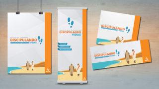 Afiche y Banner: Discipulando Vidas – Multiplique Esperanza 2018