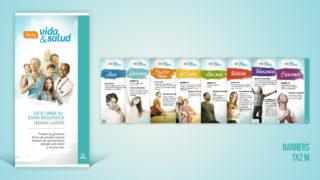 Banners Feria de Salud Adelante