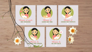 Tarjetas: Más – Dia de las Madres