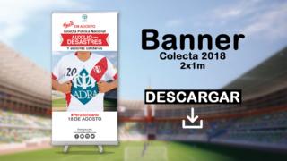 Banner Colecta 2018 – ADRA Perú