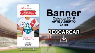 Banner Colecta 2018 (arte abierto) – ADRA Perú