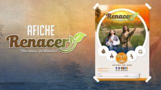 Afiche #RENACER 2018 – Arte Editable