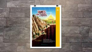 Afiche Día del Conquistador 2018