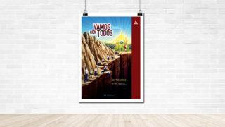Afiche:  Bautismo de Primavera | Aventureros 2018