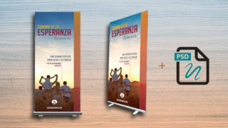 Banners + Arte Abierto:  Semana de la Esperanza