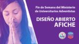 Diseño abierto – Afiche Fin de Semana Mundial del Ministerio de Universitarios Adventistas