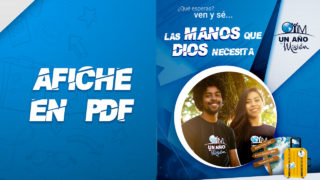 PDF – Afiche Un Año en Misión 2019