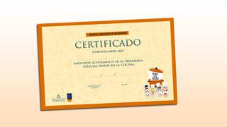 Certificado: Escuela Cristiana de Vacaciones 2019