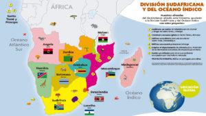 Mapa Misionero 1º Trimestre del 2019