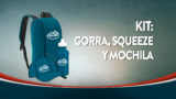 Kit Misión Caleb 2019 – gorra, mochila y squeeze