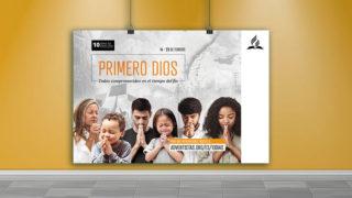 Afiche: 10 Días de Oración 2019