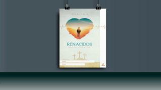 Afiche + PSD: Renacidos – Semana Santa 2019