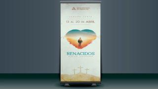 Banner + PSD: Renacidos – Semana Santa 2019