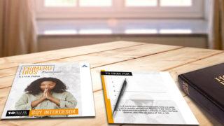 Tarjeta de oración: 10 Días de oración 2019