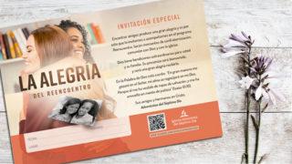Invitación: La alegría del Reencuentro