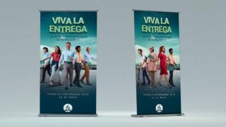 Banner: VIVA LA ENTREGA | Impacto Esperanza 2019