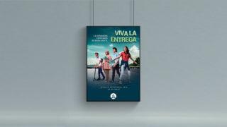 Afiche: VIVA LA ENTREGA | Impacto Esperanza 2019