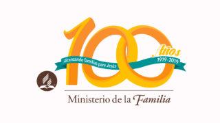 Logo 100 años   Ministerio de la Familia