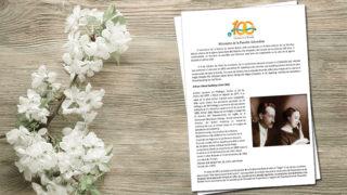 Historia del Centenario | Ministerio de la Familia