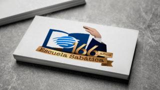 Logo: 166º años de Escuela Sabática