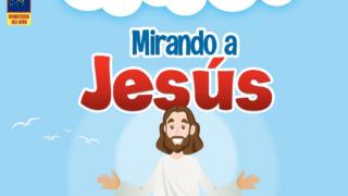 Afiche – Encuentro de Niños – Mirando a Jesús