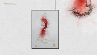 Afiche: Amor escrito con sangre| Semana Santa 2020