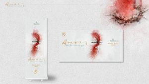 Banners: Amor escrito con sangre| Semana Santa 2020