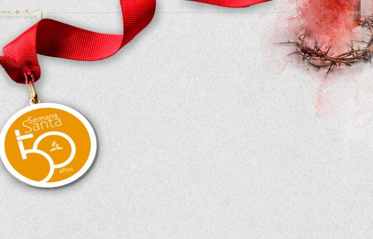 Medalla: Amor escrito con sangre| Semana Santa 2020