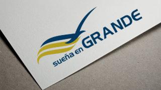 Logomarca: Sueña en Grande