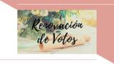 Renovación de Votos – Encuentro de Parejas