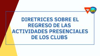 Diretrices sobre el regreso de las actividades presenciales de los Clubes de Conquistadores y Aventureros