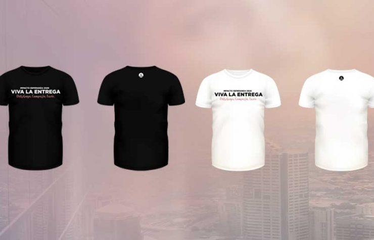 Camiseta| Impacto Esperanza 2020