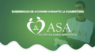 PPT: Sugerencias de acciones durante la cuarentena | ASA