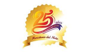 Logotipo | 25 Años Ministerio del Niño