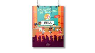 Afiche: Concurso de Talentos | 25 Años Ministerio del Niño